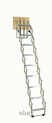 Loft Ladder Concentina Style Alufix, 3 Models Available