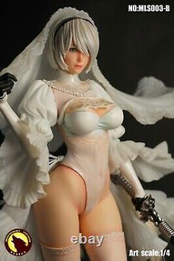 MOONLIGHT STUDIO 1/4 NieR Automata YoRHa 2B White Wedding Ver. Figure Statue