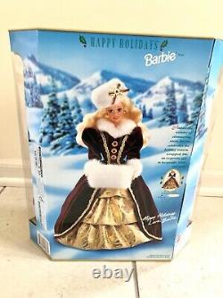 Mattel 15646 Christmas Barbie Happy Holidays 1996 Special Edition