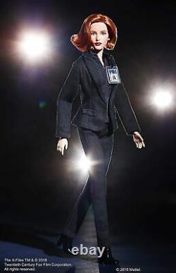 Mattel Barbie The X-Files 25th Anniversary 2018 Agent Dana Scully Signature Doll