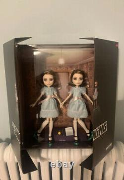 Mattel The Shining Grady Twins Monster High Collector Doll Set NEW In Hand