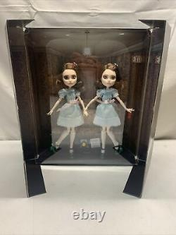 Mattel The Shining Grady Twins Monster High Collector Edition Dolls NEW