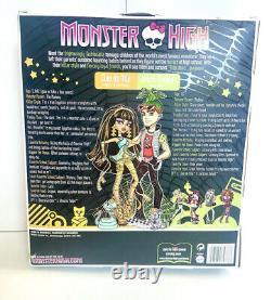 Monster High Cleo De Nile and Deuce Gorgon Doll 1st wave Retired NEW NRFB