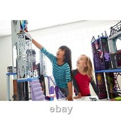Monster High Doll House Deluxe High School Creepy Playset Furniture NEW