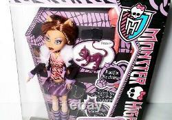 Monster High First Wave Clawdeen Wolf Doll Mattel NEW