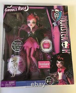 Monster High GHOULS RULE 5 Dolls Lot ABBEY Clawdeen CLEO Draculaura FRANKIE NIB