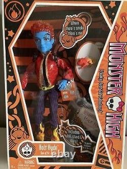 Monster High Holt Hyde 2010 1st Wave Mattel Boy Doll With Crossfade New in Box