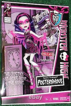 Monster High POWER GHOULS Set SDCC Webarella Toralei Spectra Clawdeen & Frankie