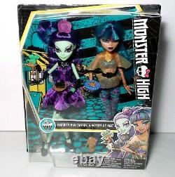 Monster High Scream And Sugar Nefera De Nile & Amanita Nightshade Dolls NEW