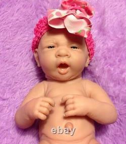 My Dream Baby Girl! Berenguer Preemie Lifelike Reborn Doll W Pacifier, Bottle