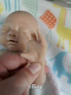 NEW 14 Preemie Full Body Silicone Baby Girl Doll Tabitha