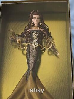 NRFB 2008 Barbie Collector Gold Label MEDUSA No More Than 6500 Made M9961 Rare