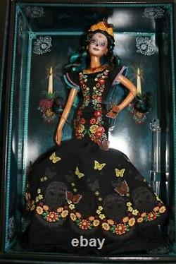 NWT Barbie Dia De Los Muertos Day of The Dead Doll Authentic COA Included Coco