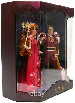 New D23 Expo 2019 Disney Designer Midnight Masquerade Giselle & Edward LE Doll