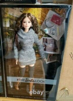 RARE The Barbie Look SWEATER MINI STYLE Doll KARL LAGERFIELD ARTICULATED