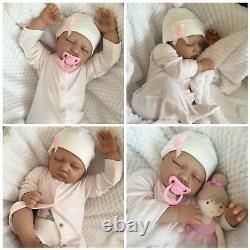 Reborn Baby Girl Doll Sophie Fake Babies Realistic Hand Painted 22 Newborn