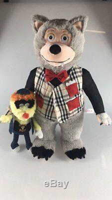 Rolfe & Earl 16 Plush Doll! Rock-afire Explosion Showbiz Pizza