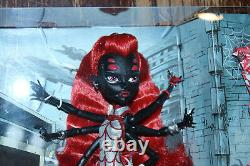 SDCC 2013 Monster High Webarella with diary & comic. Power Ghouls. Mattel. New