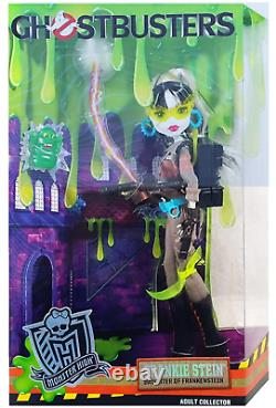 Sdcc 2016 Monster High Ghostbusters Frankie Stein Exclusive Doll Mattel