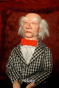 Semi-Pro Ventriloquist Old Man Dummy puppet doll figure