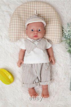 Special sales 16''Realistic Full Body Silicone Reborn Baby Doll Waterproof Gift
