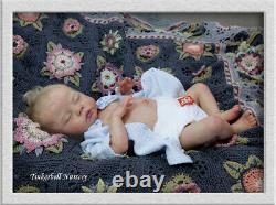 TINKERBELL NURSERY Helen Jalland Reborn newborn baby girl doll from Delilah kit