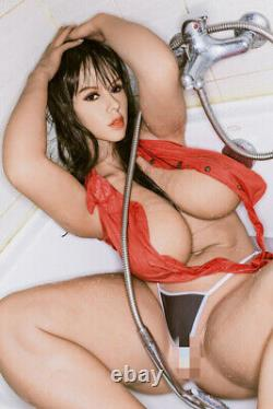 TPE Sex Doll Big Boob Adult Toys Full Body with Skeleton for Men With Tan Skin