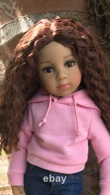 Tanya Collectible 13 inch doll by Dianna Effner comes with two wigs