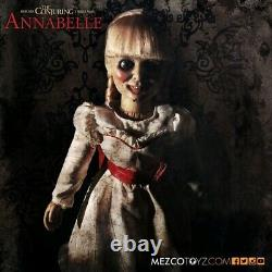 The Conjuring Annabelle Prop Replica Doll Mezco 18 scale 18 inches