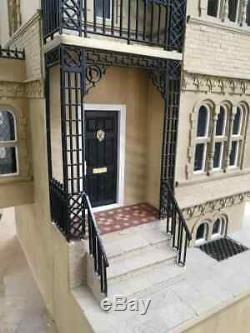 The Wye House Kit Flat packed Unpainted. Dolls House Direct
