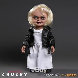 Tiffany The Bride of Chucky Talking 15 Mega Scale Doll Mezco Horror