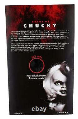 Tiffany The Bride of Chucky Talking 15 Mega Scale Doll Mezco Horror 78105