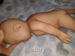 15 Prématuré Full Body Silicone Baby Boy Doll Tyler