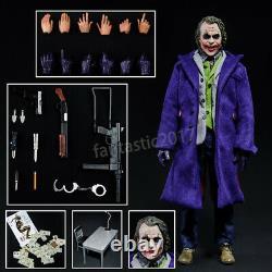 16 Échelle Homme Poupée Figure Heath Ledger The Dark Knight Joker Anime Mobile 12