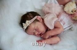 17 Poupée Réaliste Baby Doll Lifelike Soft Vinyl Real Life Handmade Poupée Baby Girl Us