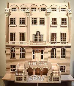 1/12 Échelle Dolls House The Buckingham Grand House 16 Pièce Kit De Maison De Poupées