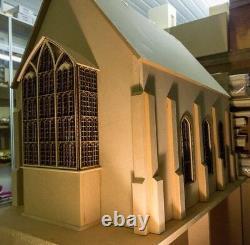 1/12 Échelle Dolls House The Great Hall Kit Inspiré Par Harry Potter Dhd