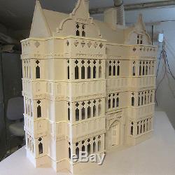 1/12 Échelle Dolls House The Oxford 9 Chambre Maison Kit Mediaeval Dans Le Style Par Dhd