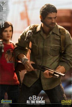 1/12 Échelle Limtoys Lmn006 Le Dernier D'entre Nous La Figure D'action Jol & Elly Doll Toy