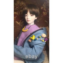 1 /3 Bjd Sd Doll Handsome Tee Boy Doll Hwayoung Resin Doll + Eyes + Maquillage Pour Le Visage