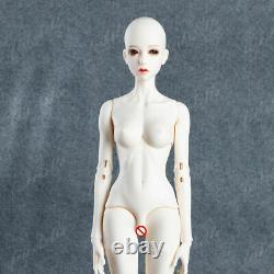 1/3 Bjd Sd Poupée Fille Sexy Femmes Femelle Nue Poupée Non Peinte + Yeux + Maquillage Du Visage