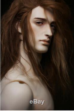 1/4 Bjd Doll Beau Garçon Homme Nu Bille En Résine Articulé Doll + Yeux + Maquillage De Visage
