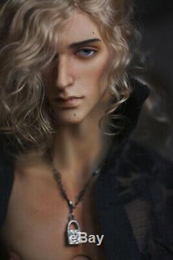 1/4 Bjd Doll Boy Homme Nu Résine Non Peint Corps + Yeux Gratuit + Maquillage De Visage Tête
