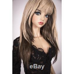 1/4 Bjd Fille Poupée Tall Résine Unpainted Doll + Yeux Libres Sans Maquillage