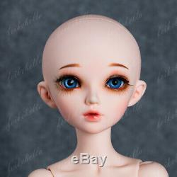 1/4 Bjd Fille Poupées Poupée 16.5in Grand Résine Unpainted + Random Eyes + Maquillage De Visage