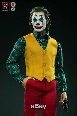 1/6 Le Joker Joaquin Phoenix Swtoys Fs027 Dress Suit La Version Figure Doll