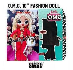 1 Authentique Lol Surprise 10 Swag Omg Fashion Doll & Clothing MC Scellé À La Main