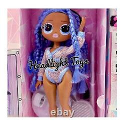 1 Lol Surprise Snowlicious Omg Fashion Doll & Snow Angel Series 1 Wave 2 In Hand