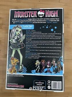 2009 Mattel Monster High Original 1st First Wave Frankie Stein Doll Watzit Nouveau