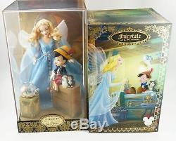 2017 D23 Expo Disney Store Exclusive Pinocchio Fée Bleue Designer Doll Le 1023